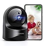 1080P Camara Vigilancia WiFi Interior, SUPEREYE Cámara IP WiFi con Visión Nocturna, Detección de Movimiento, 10s vídeo App Alerta, Audio de 2 Vías, Monitor Bebé/Anciano/Mascota, Trabajo con Alexa
