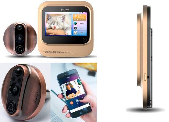 mirilla digital con aplicación movil
