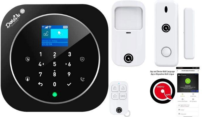 sistema de alarmas sin cuotas wifi