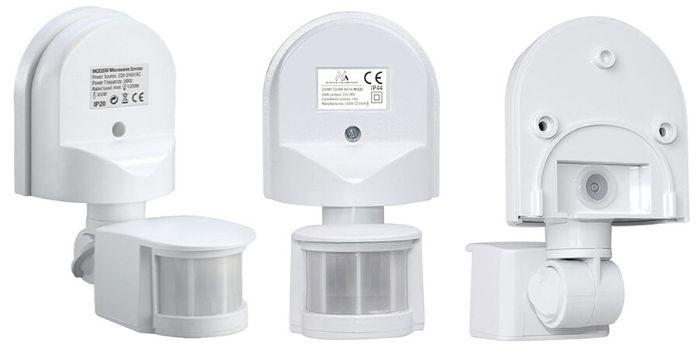 detector movimiento exterior