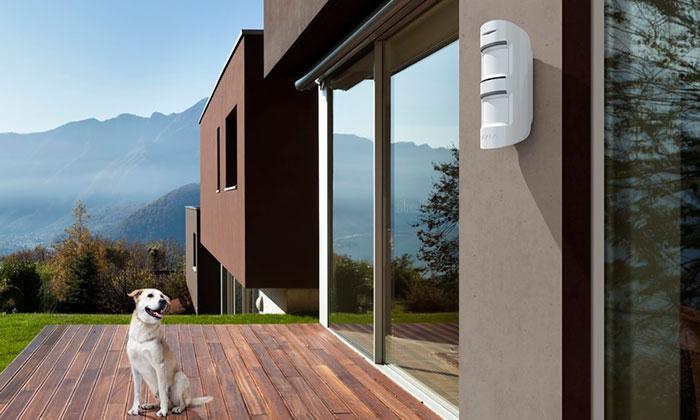 sensores de movimiento con alarma para exteriores