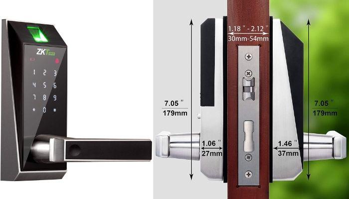 cerradura electrica y biometrica