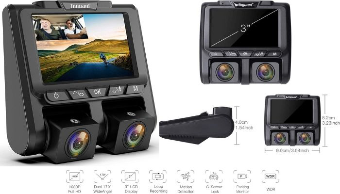 camara vigilancia coche 360