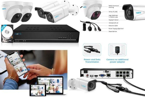 kit de cámaras de vigilancia 4k